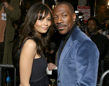 Thandie Newton and Eddie Murphy at the Los Angeles premiere of DreamWorks Pictures' Norbit