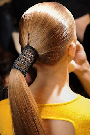 Wrap Around the Ponytail