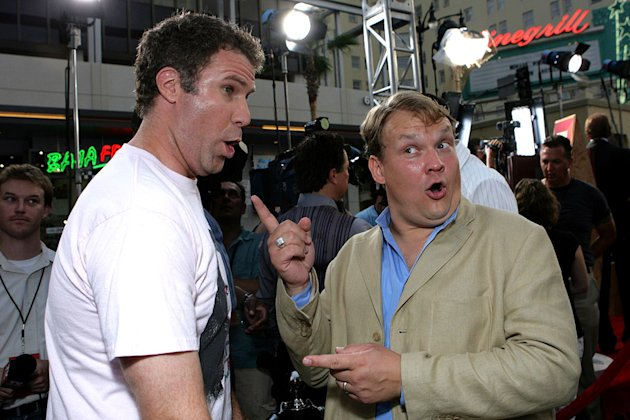 Will Ferrell and Andy Richter at The Premiere of Columbia Pictures'  &quot;Talladega Nights: The Ballad of Ricky Bobby&quot; 