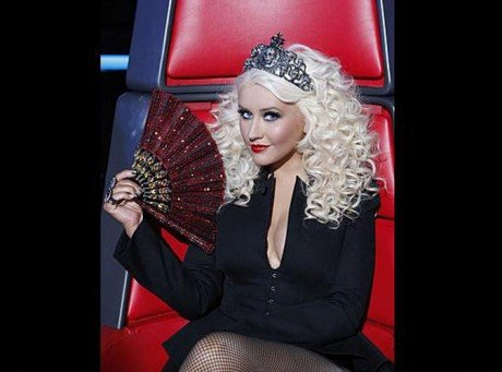 Christina Aguilera : princesse sexy de The Voice US !