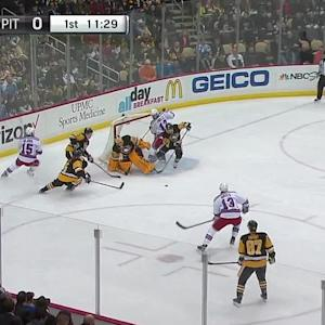 Hayes' goal opens the scoring
