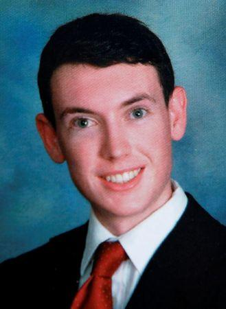 Westview High School year book picture of James Eagan Holmes is seen in Rancho Penasquitos, California