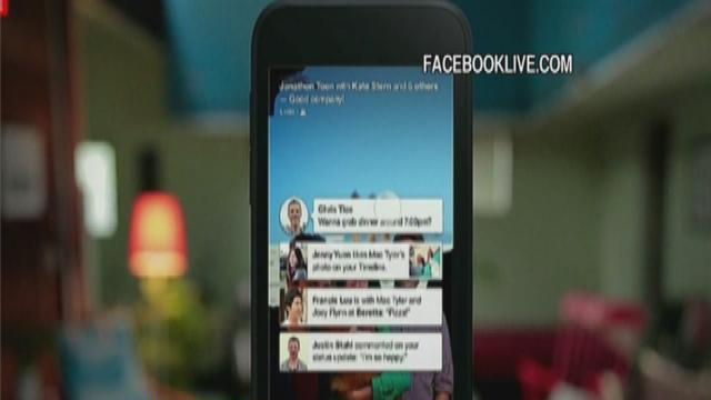Facebook's new 'Home' mobile software for Android
