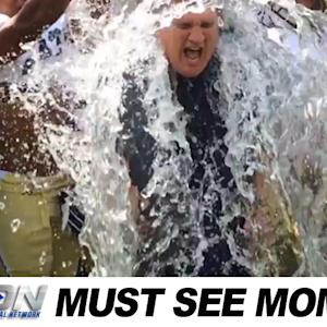 Paul Johnson Joins the ALS Ice Bucket Challenge | Must See Moment