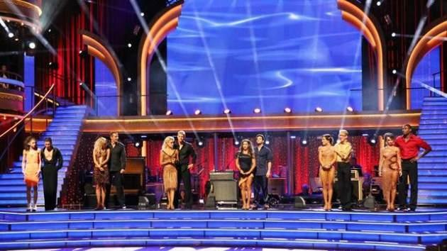 The 'DWTS' cast during Latin Week on 'Dancing with the Stars,' April 29, 2013 -- ABC