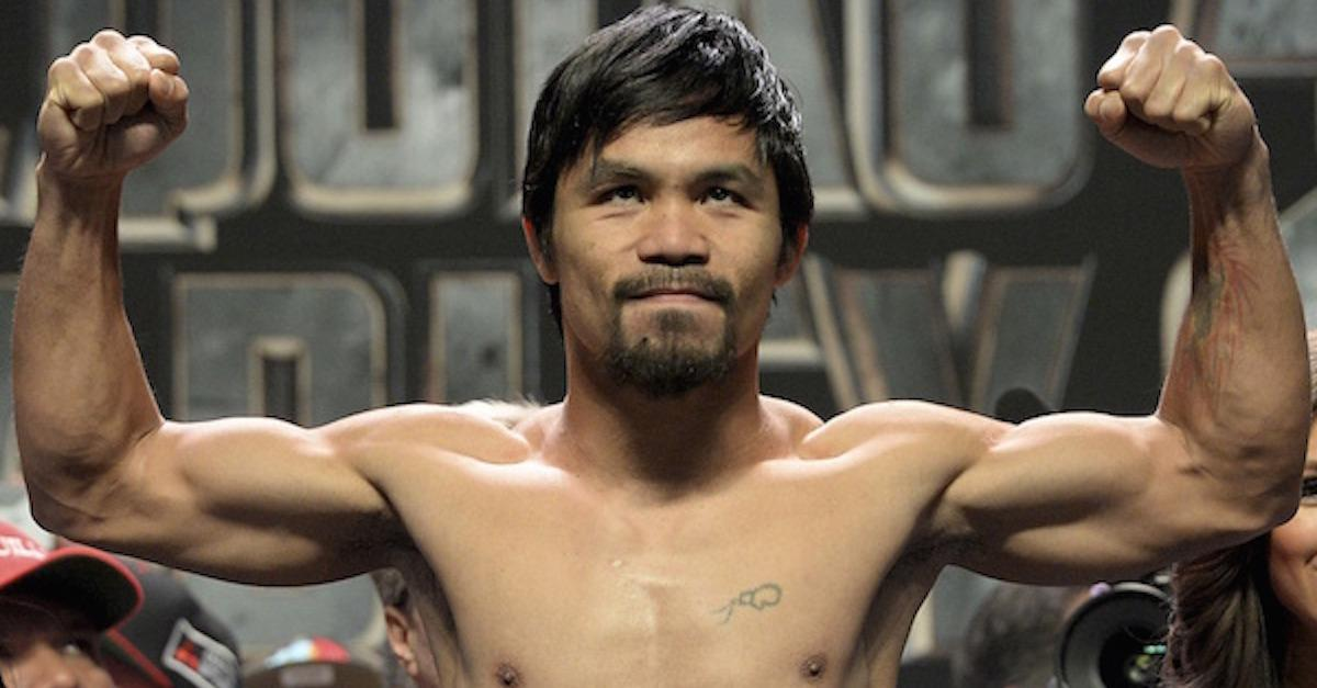13 Awesome Ways Manny Pacquiao Spends His Time