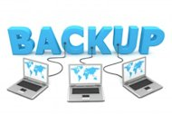 Top Backup Options for Small Businesses image Backup three laptops plugged into word 300x200