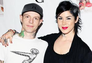 Deadmau5 and Kat Von D | Photo Credits: David Livingston/Getty Images