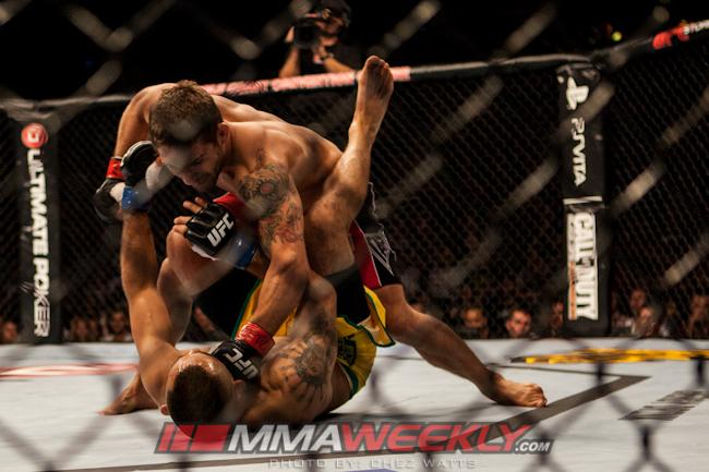 UFC on FX 6 Medical Suspensions: Mendes Pierce, Several Others Face Possible Six-Months Off
