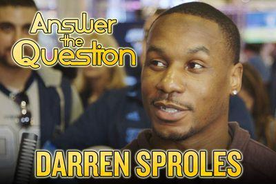 Darren Sproles goes on Super Bowl game show, talks Katy Perry and candy