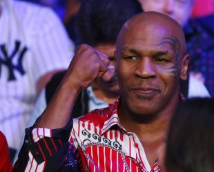 Former heavyweight champion Mike Tyson. (Photo by Rich Schultz/Getty Images)