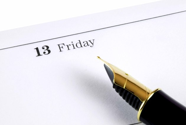 Friday 13th is the most feared day in the calendar. Photo: Rex
