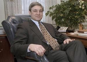 File photo of Penn State University President Graham Spanier in State College