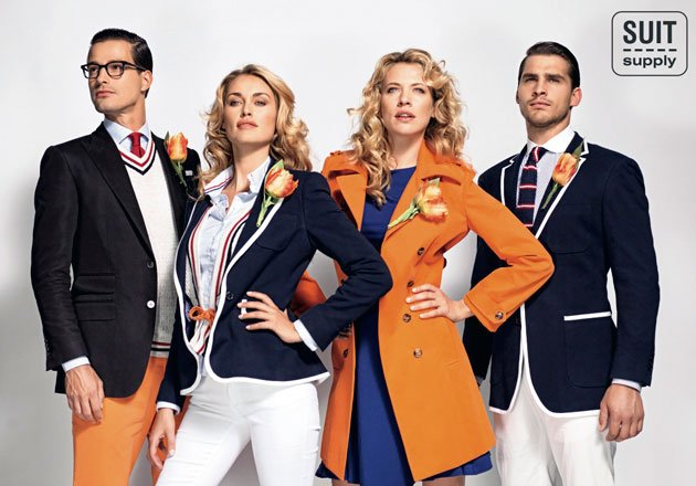 Netherlands Olympic Uniform 2012 © Suit Supply