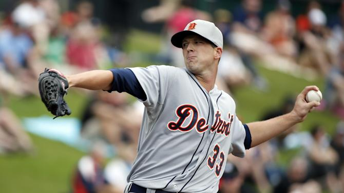 Tigers declared winners, beat Braves in rain game