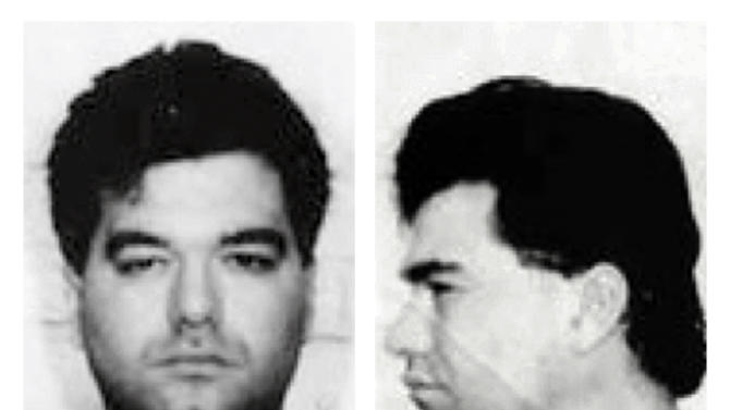 """FILE - This 1994 file photo provided by the Federal Bureau of Investigation shows Enrico Ponzo. Ponzo was convicted in Boston in November 2013 of several federal crimes, including the 1989 attempted killing of Francis """"Cadillac Frank"""" Salemme. Ponzo fled Massachusetts in 1994 and landed in Idaho where he spent more than a decade as a cattle rancher and stay-at-home father. He is scheduled to be sentenced in federal court Monday afternoon, April 28, 2014, in Boston. (AP Photo/Federal Bureau of Investigation, File)"""