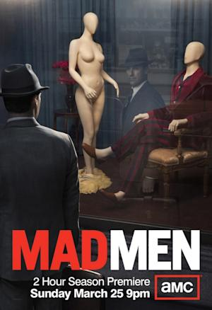 'Mad Men' season five premiered March 25.