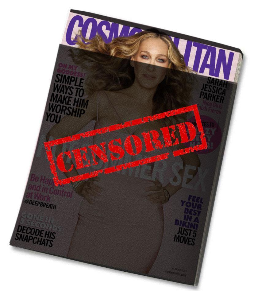 Too Racy? Retailers to Put Blinders on Cosmopolitan