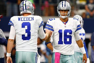 Cowboys will start Matt Cassel over Brandon Weeden vs. Giants