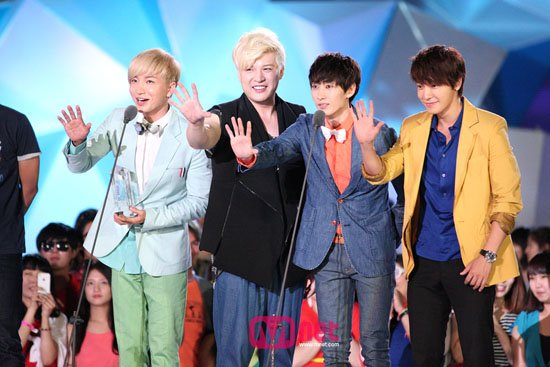 2012 Mnet 20's Choice Awards - Super Junior