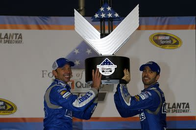 NASCAR Atlanta 2015 recap: No statement win for Jimmie Johnson, just business as usual