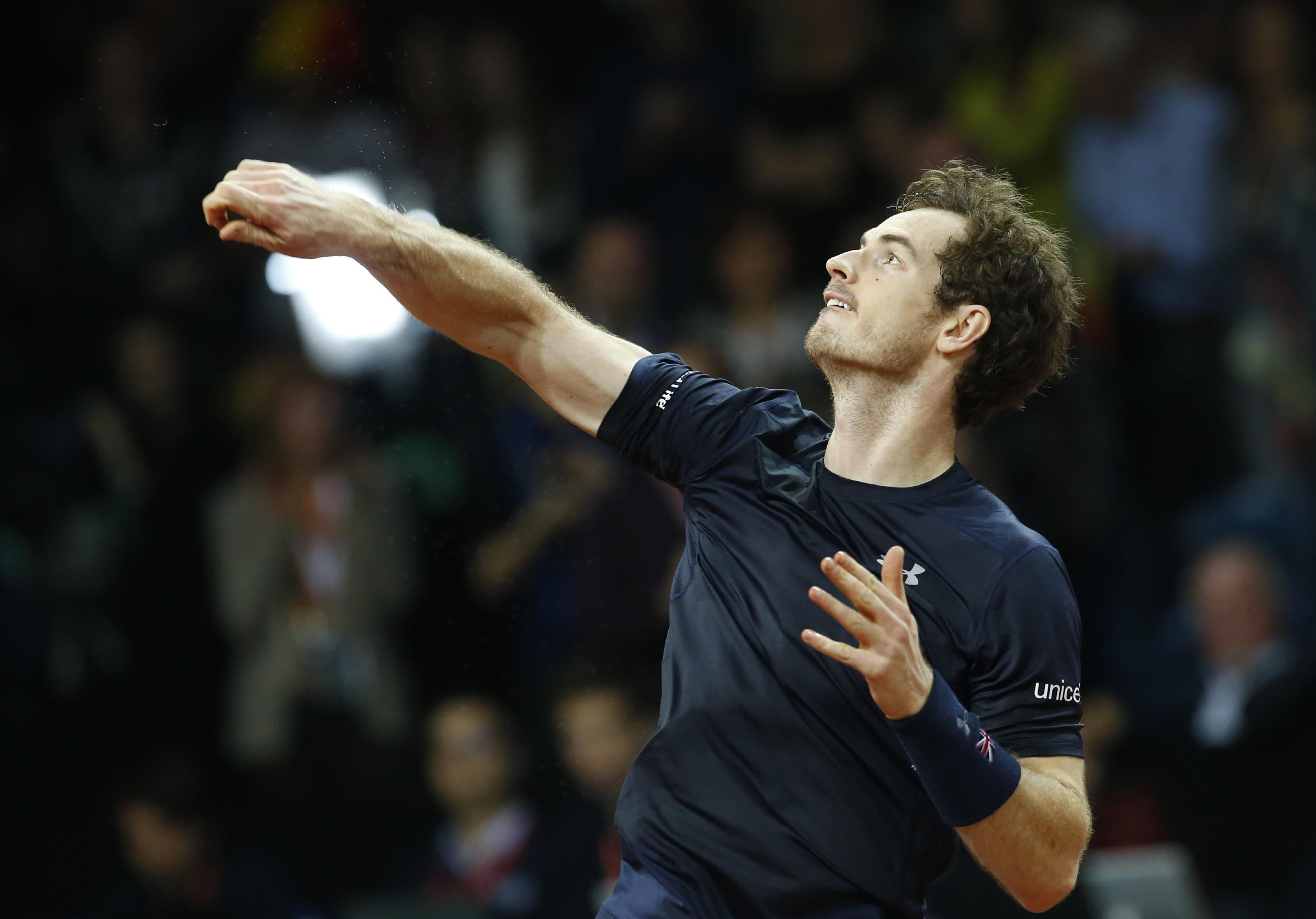 DAVIS CUP: It's official, Great Britain are a one man team