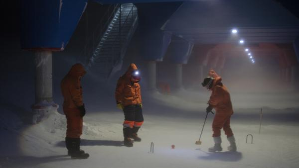 Celebrating the Queen's Jubilee, South-Pole Style