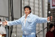 Chubby Checker performs a free concert on July 9, 2010 in Philadelphia, Pennsylvania. A lawyer acting for Checker -- the musical legend behind &quot;The Twist&quot; -- has announced a lawsuit against tech-giant Hewlett-Packard for using the singer&#39;s name for a penis-measuring app