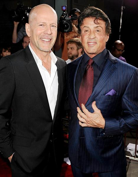 "Sylvester Stallone Slams Bruce Willis as ""Greedy and Lazy"""