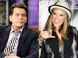 "Charlie Sheen Slams Ex Brooke Mueller as ""Chubby Weirdo,"" Tweets Photo of Grenade Cake"