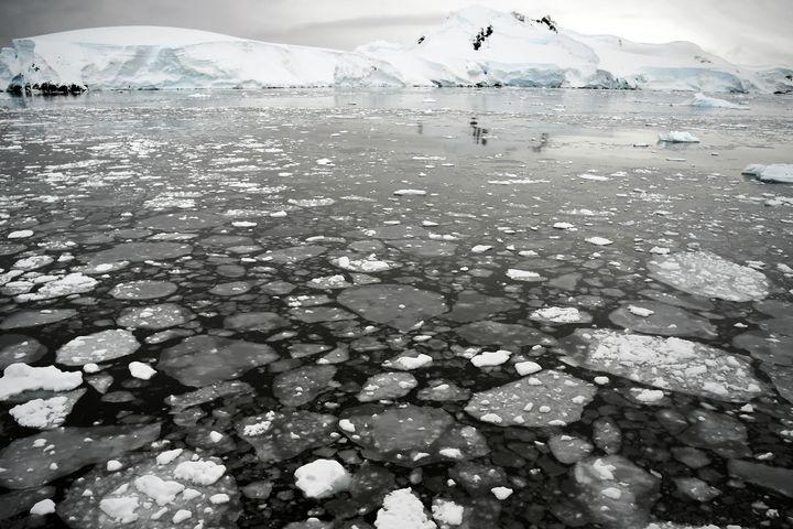 Blue lakes on an East Antarctic glacier are a troubling sign, scientists say