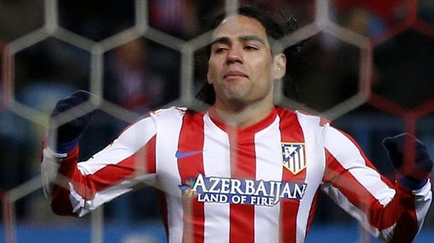 Atletico Madrid's Radamel Falcao (Reuters)
