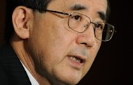 <p>Bank of Japan (BoJ) Governor Masaaki Shirakawa answers questions during a press conference at BoJ headquarters in Tokyo, on December 20, 2012. Shirakawa has vowed to work with the nation's new government to tackle deflation, according to an interview published on Saturday.</p>