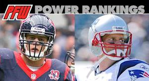 Power rankings: Texans, Patriots set for heavyweight bout