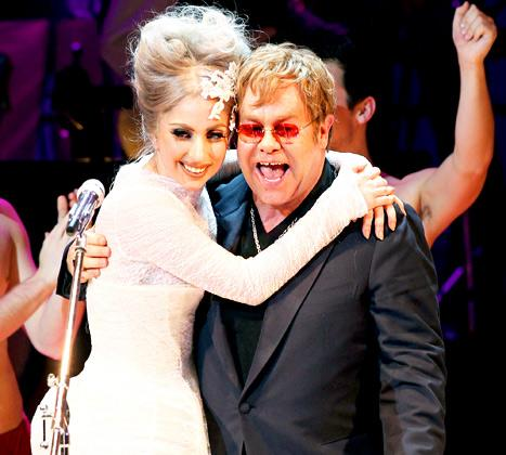 Elton John, David Furnish Asked Lady Gaga to Be Son Elijah's Godmother