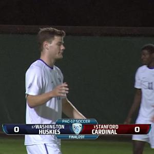 Recap: Washington men's soccer draws with Stanford