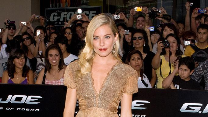 GI Joe Rise of the Cobra LA Premiere 2009 Sienna Miller