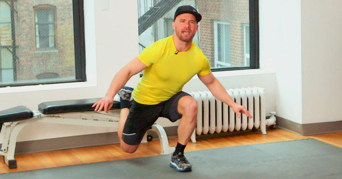 Rob Sulaver's Half Century Home Workout (Video)