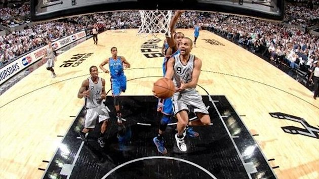 2012-13 NBA, San Antonio Spurs-Oklahoma City Thunder, Tony Parker