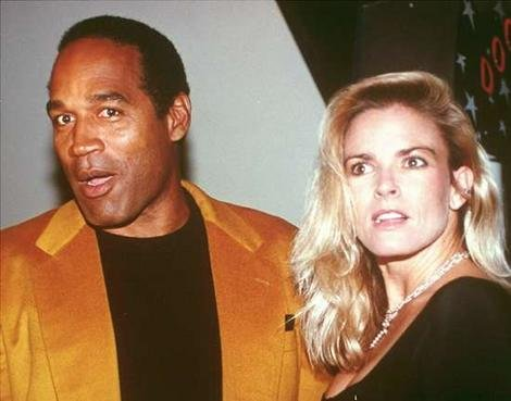 5. OJ Simpson and Nicole Brown Simpson