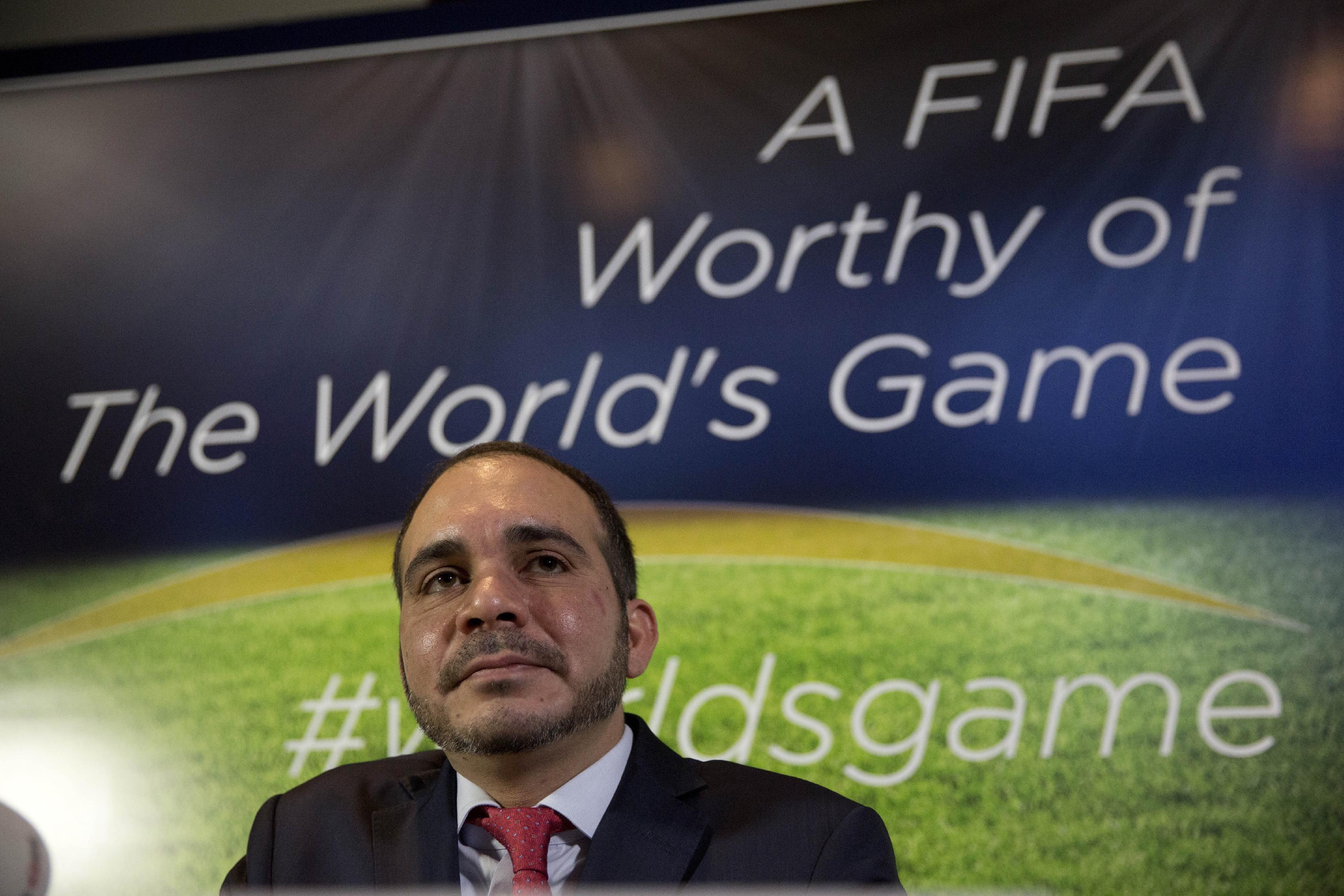 FIFA challenger Prince Ali in Africa, Blatter's stronghold