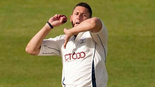 Tim Bresnan claimed two wickets for Yorkshire