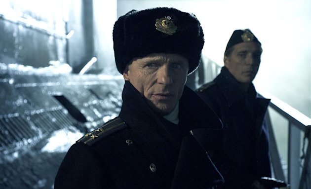 This film image released by RCR Media Group shows Ed Harris in a scene from &quot;Phantom.&quot; (AP Photo/RCR Media Group)