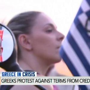 Greek Protests Back Tsipras, Syriza Against Creditors