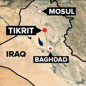 US Launches Airstrikes in Tikrit