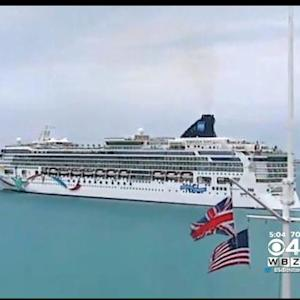 Norwegian Cruise Ship That Ran Aground Off Bermuda Arrives In Boston