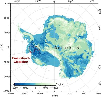 Giant Iceberg Breaks Off Antarctic Glacier