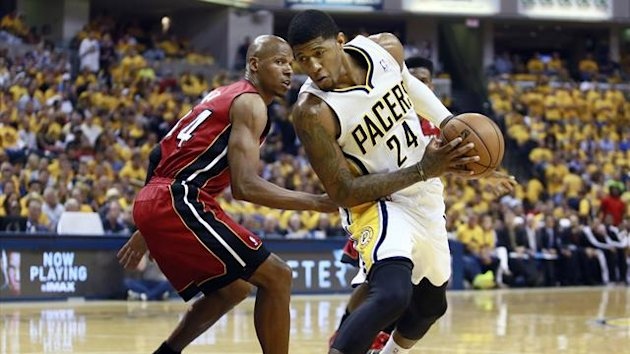 Indiana Pacers' Paul George (Reuters)