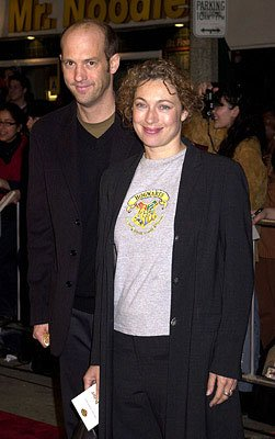 Premiere: Anthony Edwards and Alex Kingston at the Westwood premiere of Warner Brothers' Harry Potter and The Sorcerer's Stone - 11/14/2001
