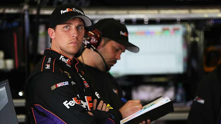 NASCAR fines Hamlin for ?disparaging? comments